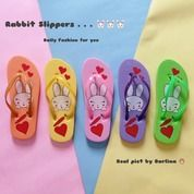 Sandal Sendal Cewe Wanita Jepit Kelinci Rabbit Flip Flop (20464707) di Kota Sukabumi