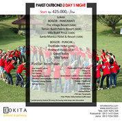 Paket OutBond 2 Day 1 Night Bogor (20466571) di Kab. Bogor