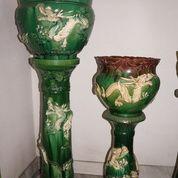 Barang Antik Pot Antik Naga Besar & Kecil (20469119) di Kota Jakarta Barat