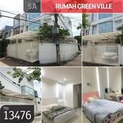 Rumah Green Ville, Jakarta Barat, 120 M, 3 Lt, SHM (20491091) di Kota Jakarta Barat