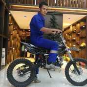 Motor Trail 110cc Khusus Dewasa Garansi Service (20501991) di Kota Medan