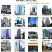 Virtual Office Jakarta Utara, Selatan, Barat, Pusat, Timur (20522351) di Kota Jakarta Selatan