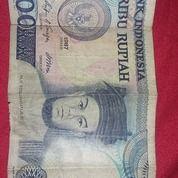 Uang Kuno Rp 1000 Th 1987 (20527915) di Kota Bekasi