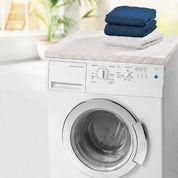 Cover Sarung Pelindung Penutup Tutupan Mesin Cuci Impor Bahan Polyester Warna Biru Dan Abu Abu Polos (20540715) di Kota Tangerang Selatan