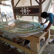 Kaca Inlay, Kaca Patri, Kaca Bevel, Kaca Decorasi Cermin Bevel (20542023) di Kota Palembang