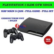 PS3 Slim 500 GB Full Game Stok Terbatas