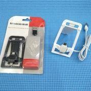 Holder Data Cable Multi Stand Kabel Data 2in1 (V8 Dan 5G)