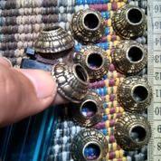 Mendak Keris Motif Tua Sepuh Bagus Menyerupai Kuno Antik Unik