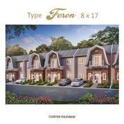 Rumah Medan Resort City Tipe Feron 8x17 M2 (20558143) di Kota Medan