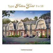 Perumahan Medan Resort City Tipe Pollen Gold 9x18 (20573311) di Kota Medan
