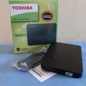 Harddisk External Canvio Toshiba 1TB USB 3.0 Baru (20580215) di Kota Surabaya