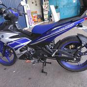 Yamaha MX King 2017 Warna Blue Silver Yamaha Racing