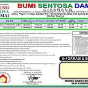 Rumah Murah Subsidi Ready D Akses KRL Stasiun Cikarang BUMI SENTOSA DAMAI (20636367) di Kab. Bekasi