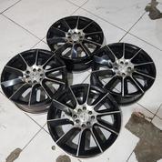 Velg Jf Luxury Black Polish R17 (20645851) di Kota Tangerang Selatan