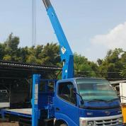 Truck Crane Toyota Dyna 115ET Kapasitas 3,5 Ton