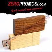 Souvenir Flashdisk Kayu OTGWD01 - USB OTG Wood 8GB (20655883) di Kota Tangerang