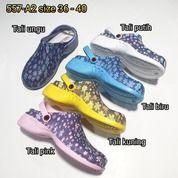 Sandal Sendal Sepatu Cewe Wanita Karet Barabara Loafers (20666875) di Kota Sukabumi