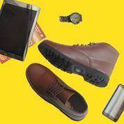 Sepatu Boots Pria BG Shoes Borneo