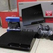 Sony PS3 Slim Hdd 500GB+2 Stik Wairless Bonus Sudah Isi 100 Game Populer Siap Diantar
