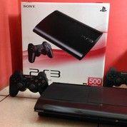 PlayStation 3 Super Slim Hdd 500GB Full 100 Game Kekinian Plus 2 Stik Bisa Diantar