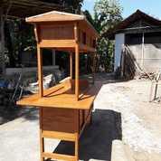 Gerobak Angkringan Saja Gerobak Kayu Sudah Plitur (20719679) di Wedi