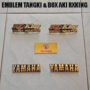 Emblem Tangki & Box Aki RXKing ( 4 Pcs ) (20750195) di Kota Jambi