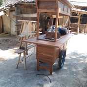 Gerobak Angkringan Paket Komplit Jati Mantapppp (20763991) di Wedi