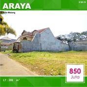 Tanah Luas 209 Di Puri Palma Megah Araya Kota Malang _ 383.19 (20765983) di Kota Malang