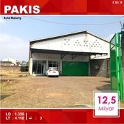 Gudang Luas 4.118 Di Pakisjajar Pakis Kota Malang _ 385.19 (20766271) di Kota Malang