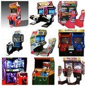 Mesin Arcade Simulasi Video Game