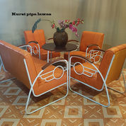 Set Kursi Pipa Vintage (20790691) di Kota Tangerang Selatan