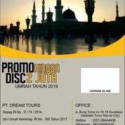 PROMO UMROH SUPER HEMAT TAHUN 2019 (20814683) di Kota Surabaya