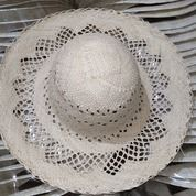 Topi Pantai Wanita Panama Bunga (20861363) di Kab. Tasikmalaya