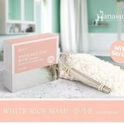 Hanasui White Rice Soap With Scrub / 60gr (20887791) di Kota Bekasi
