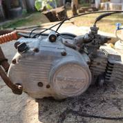 Mesin Motor Suzuki RC 100 Bravo Jet Cooled STNK BPKB (20890751) di Kab. Sumedang