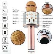 Mic Microphone Wireless Bluetooth Wster Mic Speaker Karaoke