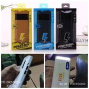 Powerbank Packing Mika Output 10,000 + 2 Usb (Samsun, Oppo, Xiaomi) Lcd & Senter