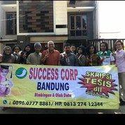 JASA SKRIPSI/ TESIS/TUGAS AKHIR, DLL BANDUNG & LUAR KOTA SUCCESS CORP (20919307) di Kota Bandung