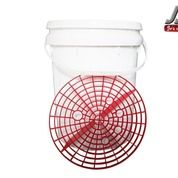 Car Wash Bucket + Grit Guard (Ember Cuci)