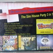 """CD PC Game """" The Sims House Party Full CD Version"""""""