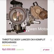 THROTTLE BODY LANCER CK4 CK1 CK2 EVO 456 VOLVO S40 ORIGINAL (20956055) di Kab. Tasikmalaya