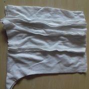 Kain Majun Putih Jahit Sambung (20957659) di Tambun