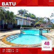 Villa Resort Luas 6.535 Di Songgoriti Kota Batu Malang _ 410.19 (20975687) di Kota Malang