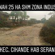 Tanah Zona Industri 25 Hektar 3.7 Km Ke Gerbang Tol Cikande Kab Serang (20982491) di Kab. Serang
