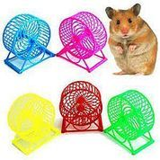 Mainan Hamster Kincir Wheel Spinner Roda Tikus Latihan Lari Joging Olahraga Pet Runner