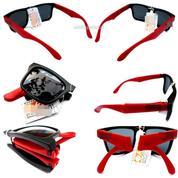 Kacamata Lipat Black Red (21002131) di Kota Jakarta Pusat