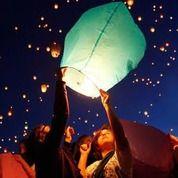 Lampion Terbang Warna Warni (21011371) di Kab. Gresik