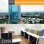 Office Ciputra International, Tower 3, Lt 15, Jakarta Barat, 38,2 M, PPJB (21013791) di Kota Jakarta Barat