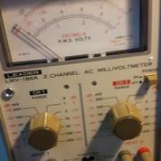 LEADER LMV 186A 2 Channel AC Millivoltmeter (Japan)