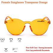 Grosir Transparan Sunglasses Female Retro (21037539) di Kota Jakarta Timur